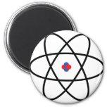 Atom Nucleus Refrigerator Magnets