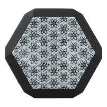 Atom Pattern Black Bluetooth Speaker