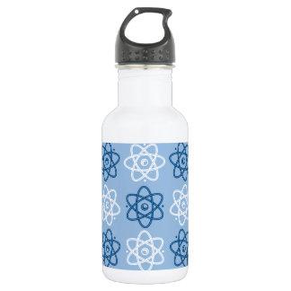Atom Pattern Water Bottle