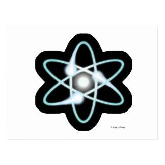 Atom Postcard