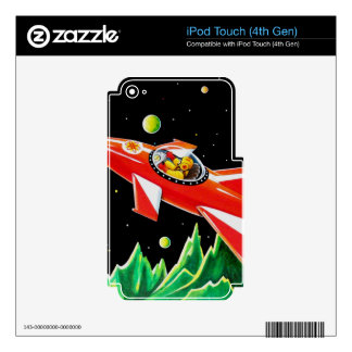 ATOM ROCKET SKIN FOR iPod TOUCH 4G