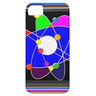 ATOM science explore study research NVN632 SCHOOL iPhone SE/5/5s Case