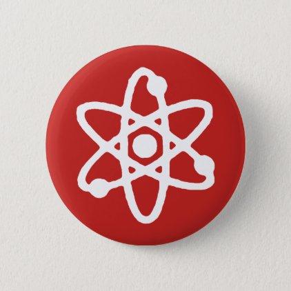 Atom science pin