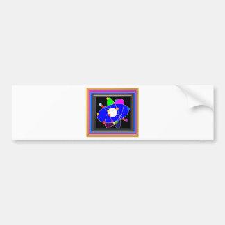 Atom Science School Research Development NVN658 RN Bumper Sticker