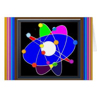 Atom Science School Research Development NVN658 RN Stationery Note Card