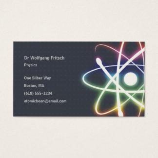 Atom   Scientist Business Card