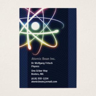 "Atom - Scientist Business Card (3.5""x2.5"")"