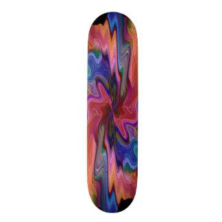 Atom Smashing Skateboard