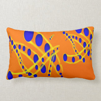 Atom Sphere Pillow