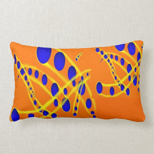 Atom Sphere Pillow | Zazzle
