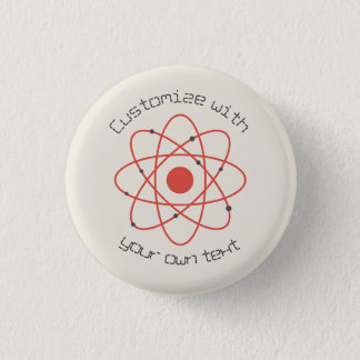Atom Structure Pinback Button