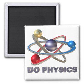 Atom symbol magnet