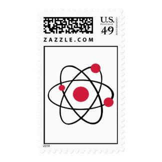 Atom symbol stamps