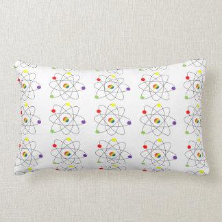 Atom Throw Pillows