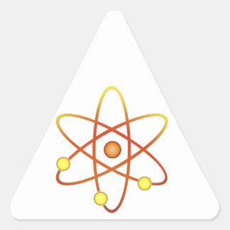 Atom Triangle Sticker