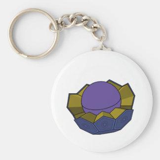 AtomBall3 Llavero Redondo Tipo Pin
