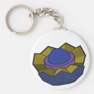 AtomBall4 Llavero Redondo Tipo Pin