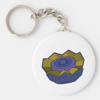 AtomBall5 Llavero Redondo Tipo Pin