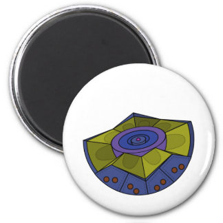 AtomBall7 2 Inch Round Magnet