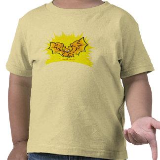atombat atomised black outline T-Shirt