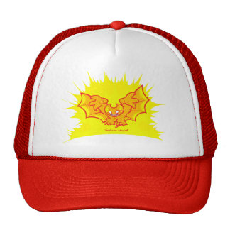 atombat atomised redoutline mesh hat