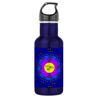 Atome RADON ATOM SCIENCE MICROSCOPIC DESIGN CREATI 18oz Water Bottle