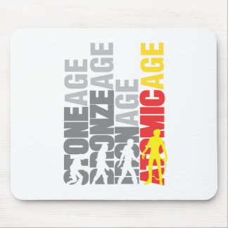 Atomic-age Mousepad