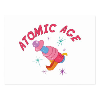 Atomic Age Postcard