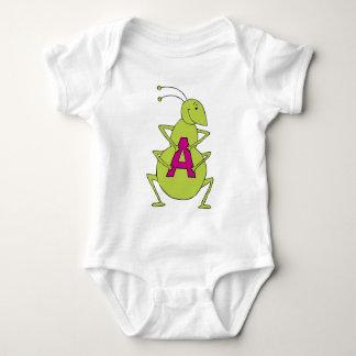 atomic ant baby bodysuit