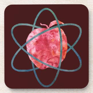 Atomic Apple Drink Coaster