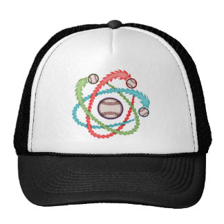 Atomic Baseball Trucker Hat