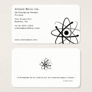 Atomic Bean | Scientist Business Card