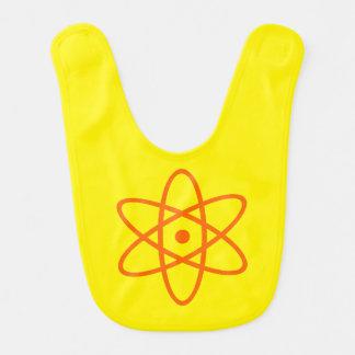 atomic bib - orange & yellow