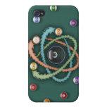 Atomic Billiards iPhone 4/4S Cover