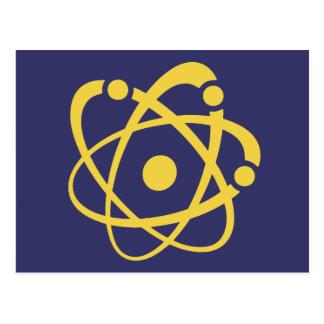 Atomic Bingo Au Go Go Postcard