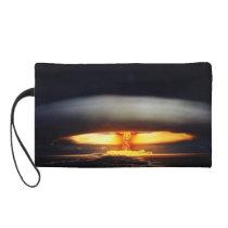 Atomic blast wrislet wristlet purse