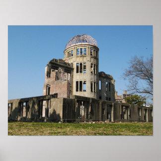 Atomic Bomb Dome, Hiroshima, Japan Poster