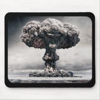 atomic bomb explosion mouse mat