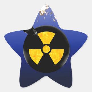Atomic bomb sticker