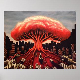 Atomic Bomb Tree Poster