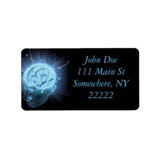 Atomic Brain Label