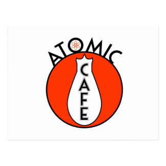 Atomic Cafe Postcard