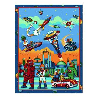 Atomic City Postcard