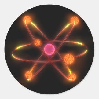 Atomic Classic Round Sticker