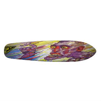 Atomic Detonation @ T+1 - SK8 Street Art Skate Board Deck