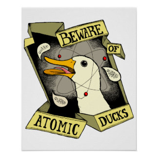 Atomic Duck poster