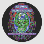 Atomic Earth Sticker