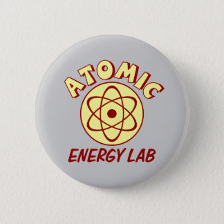 Atomic Energy Lab Button