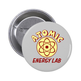 Atomic Energy Lab Pinback Buttons