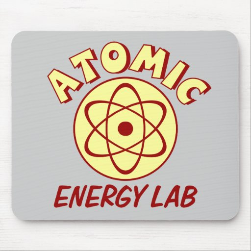 Atomic Energy Lab Mouse Pad